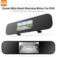 Xiaomi MIJIA 5 Inch Car DVR Touchscreen 1080P Smart Rearview Mirror Dash Cam Support Double Recording App Voice Control Dash Cam