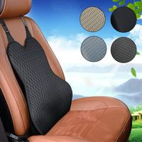 Car Waist Support Pad Memory Foam Cushion Seat Backrest Lumbar Back Support Cushion For Spring And Summer