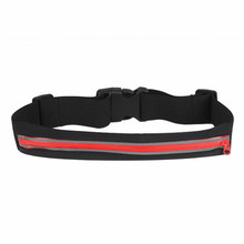 Waterproof Running Bag Waist Pouch Anti-theft Safety Jogging Fanny Belt Cycling Cellphone Pack Bag Bum Bag(China)
