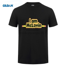GILDAN I AM MCLOVIN HUMOR NEW T-SHIRT S M L XL 2XL SUPERBAD FOGELL JONAH HILL KICK-ASS Design Style Short Sleeve T Shirt