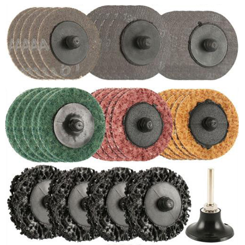 34Pcs Sanding Discs Set +1Pcs Holder 2