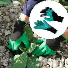 Garden Gloves With Fingertips Claws Quick To Dig And Plant Safe For Rose Pruning