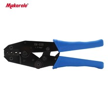 Automotive crimping tool HM-03B for non-insulated plugs connectors1.5-6mm2 crimping tool for electrician wire stripping tool stud crimping tool for metal profile matrix 87951