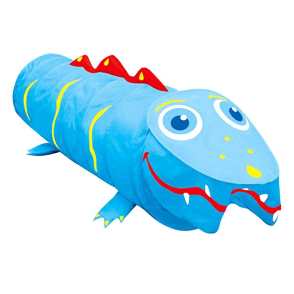 Crocodile de bande dessinée Tunnel Ramper Tente tente jouet pour enfant Enfants maison de jeu Jeu Jouet Tentes pour Enfants Bébé Intérieure Outdoor Fun
