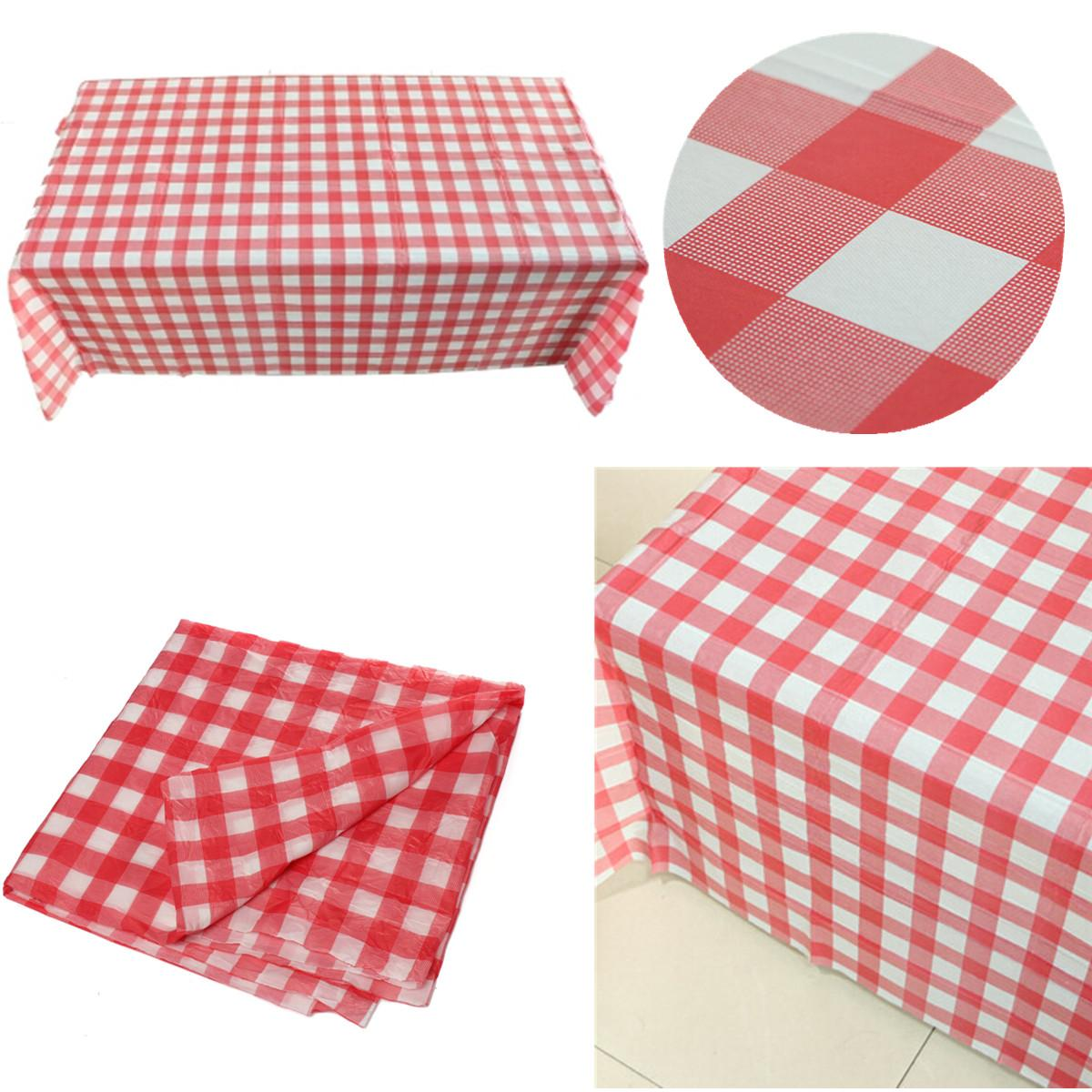 Cool Us 1 45 42 Off Red Gingham Plastic Disposable Check Tablecloth Tablecover 160X160Cm Party Outdoor Picnic Used For Tablecloths Chair Covers In Andrewgaddart Wooden Chair Designs For Living Room Andrewgaddartcom