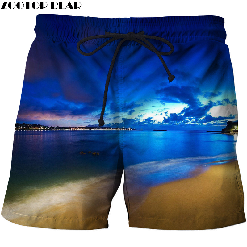 New Hip Hop 3d Printer Men T-Short Bodybuilding Breathable Summer Beach Male Clothing Loose Shorts Quick Dry Polyester Drop Ship