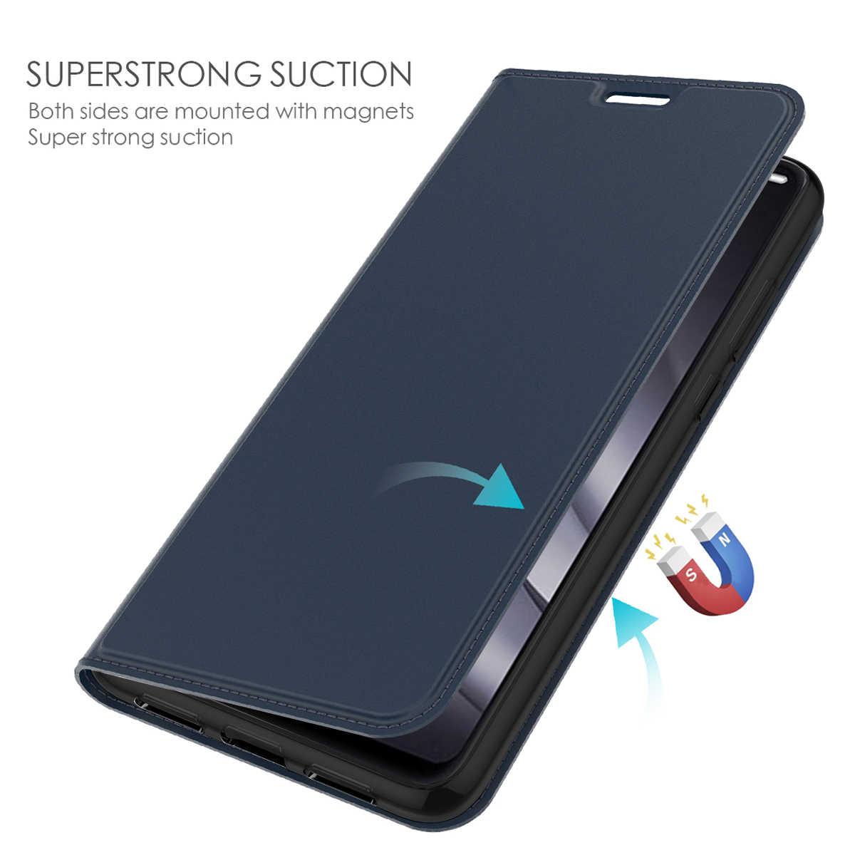 Asus Zenfone 5 6 ZS630KL ケース高級レザーフリップスタンドスリムマグネット財布カバー Zenfone 5 最大 M1 ZB601KL ZB602KL ケースカード