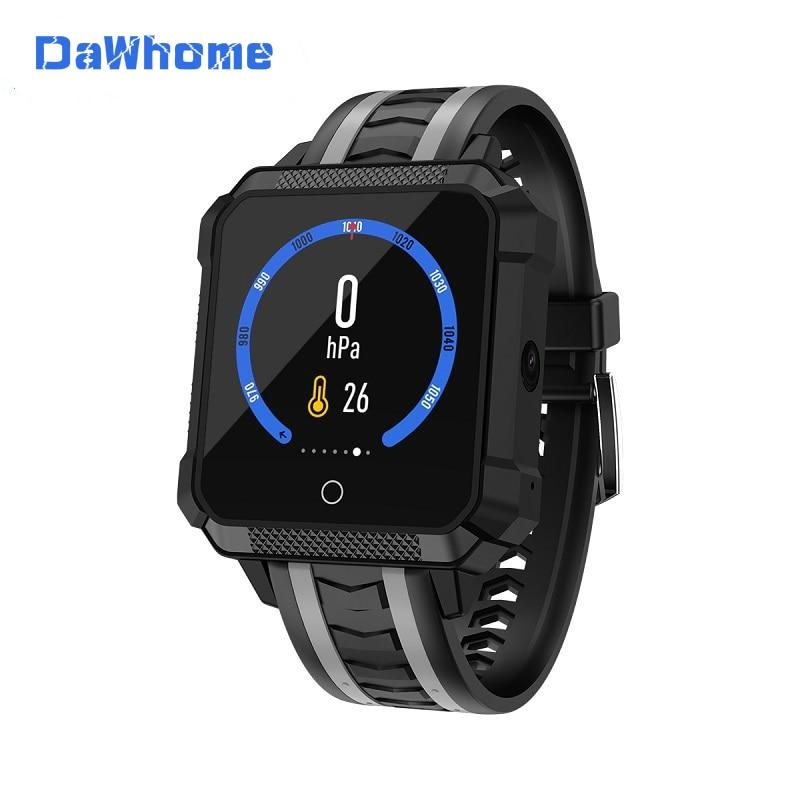 DaWhome Sport Smart Watch Men GPS Smartwatch Android 4G Smartwatch Bluetooth Waterproof Message Call Reminder Ip68 Sport Watch