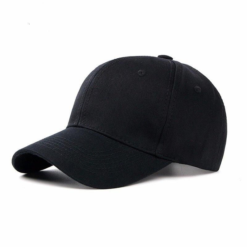 Men Cap Baseball-Cap Sun-Hat Cotton Solid Light-Board Female Outdoor