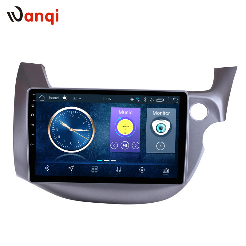 10.1inch Android 8.1 Car GPS Navigation For Honda Fit 2008-2013 Right Hand Drive Support