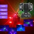 12x10 Вт двойной луч света с RG лазером  DMX512 двойной головной Луч светодиодный движущийся головной свет  два колеса вращаются сценический лазер...