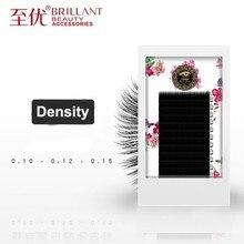 BRILLANT Thick Volume Rounded Grafting Eyelashes Circle Nature Beauty Salon Plant Single Classic Density Parallelism Mink Soft
