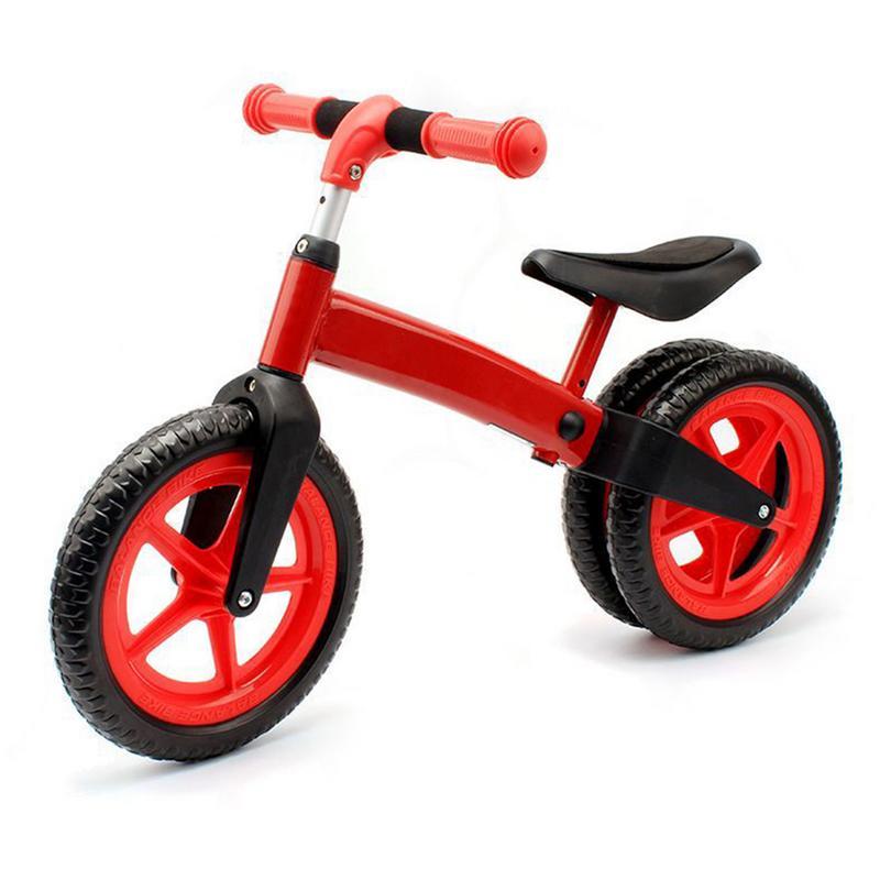 Enfants Walker 2 roues Balance vélo jouet sécuritaire Stable Buggy Durable Scooter fournitures de plein air enfants débarrassant Scooter sans pédale