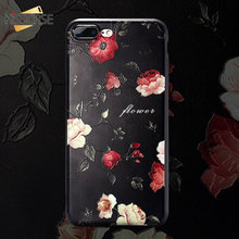 KISSCASE 3D Floral Pattern Phone Case For iPhone MAX XS XR X TPU Silicone For iPhone 5 5s SE 6 6s 7 8 Plus Fashion Cover Cases цена и фото