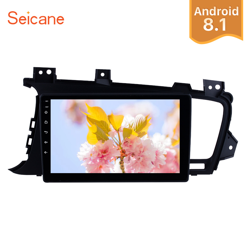 Seicane Android 8 1 9 HD Touchscreen Car Radio GPS Multimedia Player For 2011 2012 2013