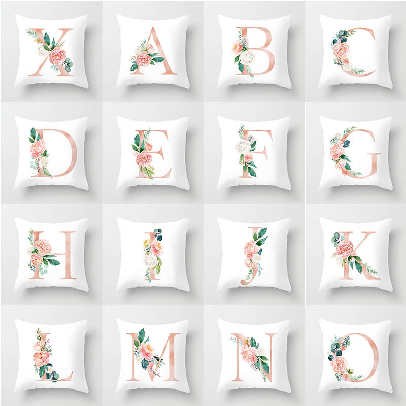 45*45 Pillow Case Cover Home Cushion Simple Geometric Throw Pillowcase Pillow Covers