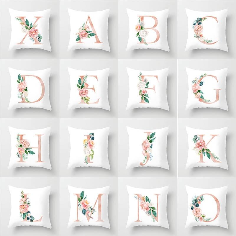 45*45 Pillow Case Cover Home Cushion Simple Geometric Throw Pillowcase Pillow Covers