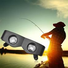 Портативная пластиковая оправа для рыбалки, очки для рыбалки, оптический бинокль для рыбалки на открытом воздухе
