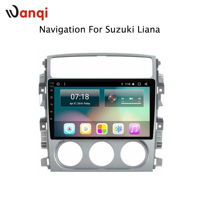 9 pouces 8 Noyaux 2g RAM Android 8.1 Navigation Automobile Lecteur pour Suzuki LIANA 2006-2013 Support BT