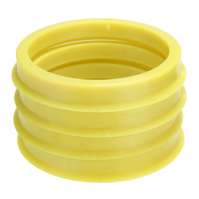 4Pcs 66.6 to 57.1mm Yellow Plastic Wheel Center Collar Hub Centric Ring Wheel Rim Parts Car Accessories Universal For All Cars