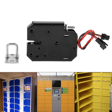 brand Electric Control Lock DC 12V 2A Carbon Steel Electromagnetic Door Locks Cabinet Drawer Locker Lock Latch security tools