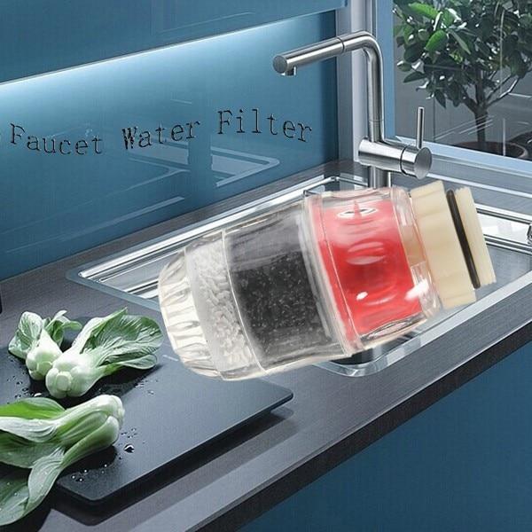 Carbon Home Kitchen Faucet Tap Water Clean Purifier Filter Cartridge 60X40mm