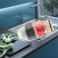 Carbone maison cuisine robinet robinet eau propre purificateur filtre cartouche 60X40mm|Filtres à eaux| |  -