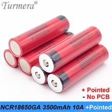2019 Original 18650 Battery 3500mah NCR18650GA pointed 10a 3.6V Battery for Panasoniic flashlight battery pack use turmera