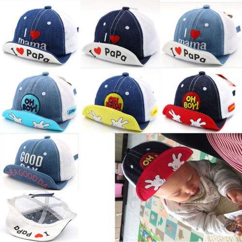 39b05036c US $2.63 40% OFF|NEW Fashion Toddler Kids Baby Boys Girls Peaked Caps Hip  Hop Baseball Sports Sunhat Adjustable Snapback Hat Popular Cool Caps-in  Hats ...