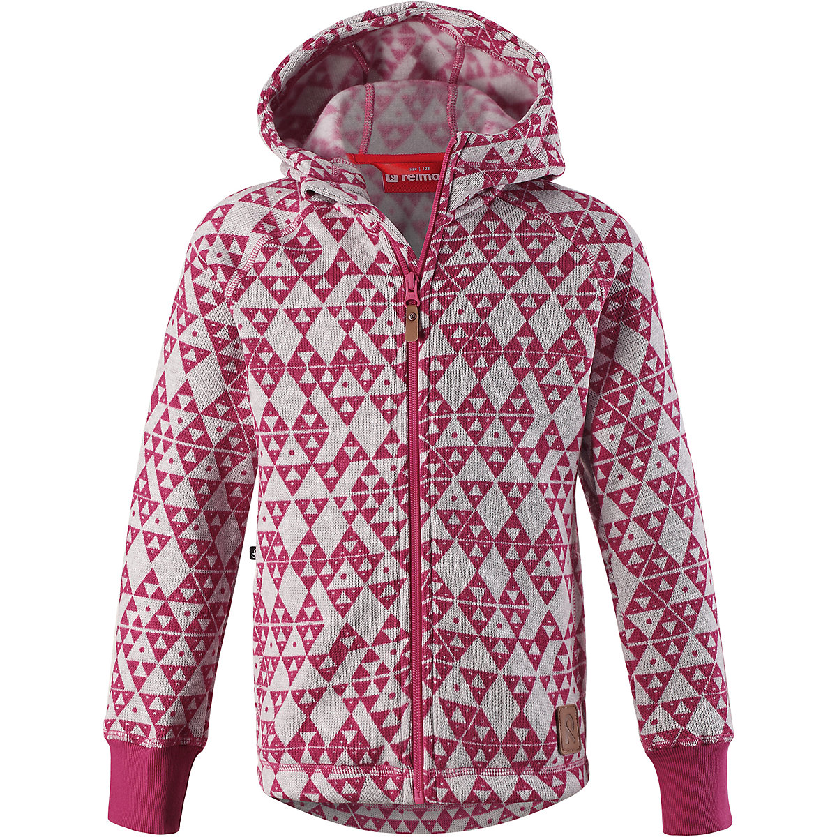 REIMA Sweaters 8689394 For girls Polyester warm winter children clothing girl Suit jacket