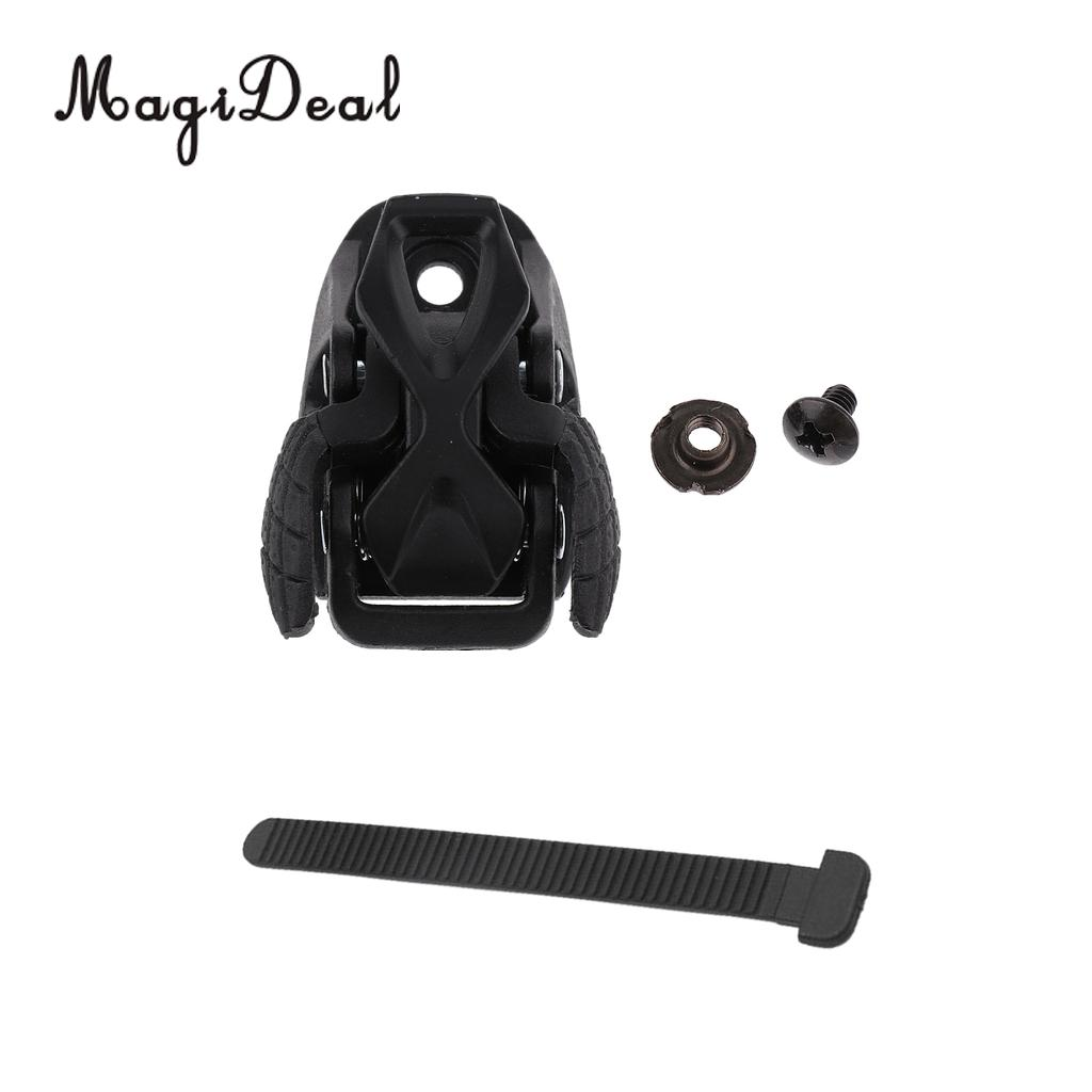 MagiDeal Inline Roller Skate Replacement Spider Buckle Clasp T Shape Fasten Strap