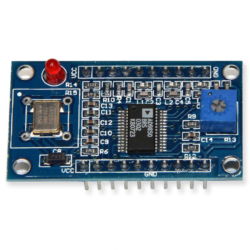 Board Signal Generator Module 0-40MHz AD9850 DDS DIY Parts 2 Square Output Replacement 2 Sine Wave Adjustable Test EquipmentBoard Signal Generator Module 0-40MHz AD9850 DDS DIY Parts 2 Square Output Replacement 2 Sine Wave Adjustable Test Equipment