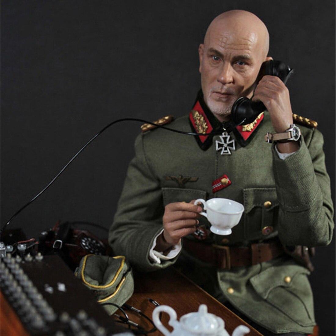 30cm 1/6 군인 모델 현실적인 headsculpt diy 수제 그림 모델 남자 선물 독일 필드 전화 스위치 보드 장면-에서액션 & 장난감 숫자부터 완구 & 취미 의  그룹 3