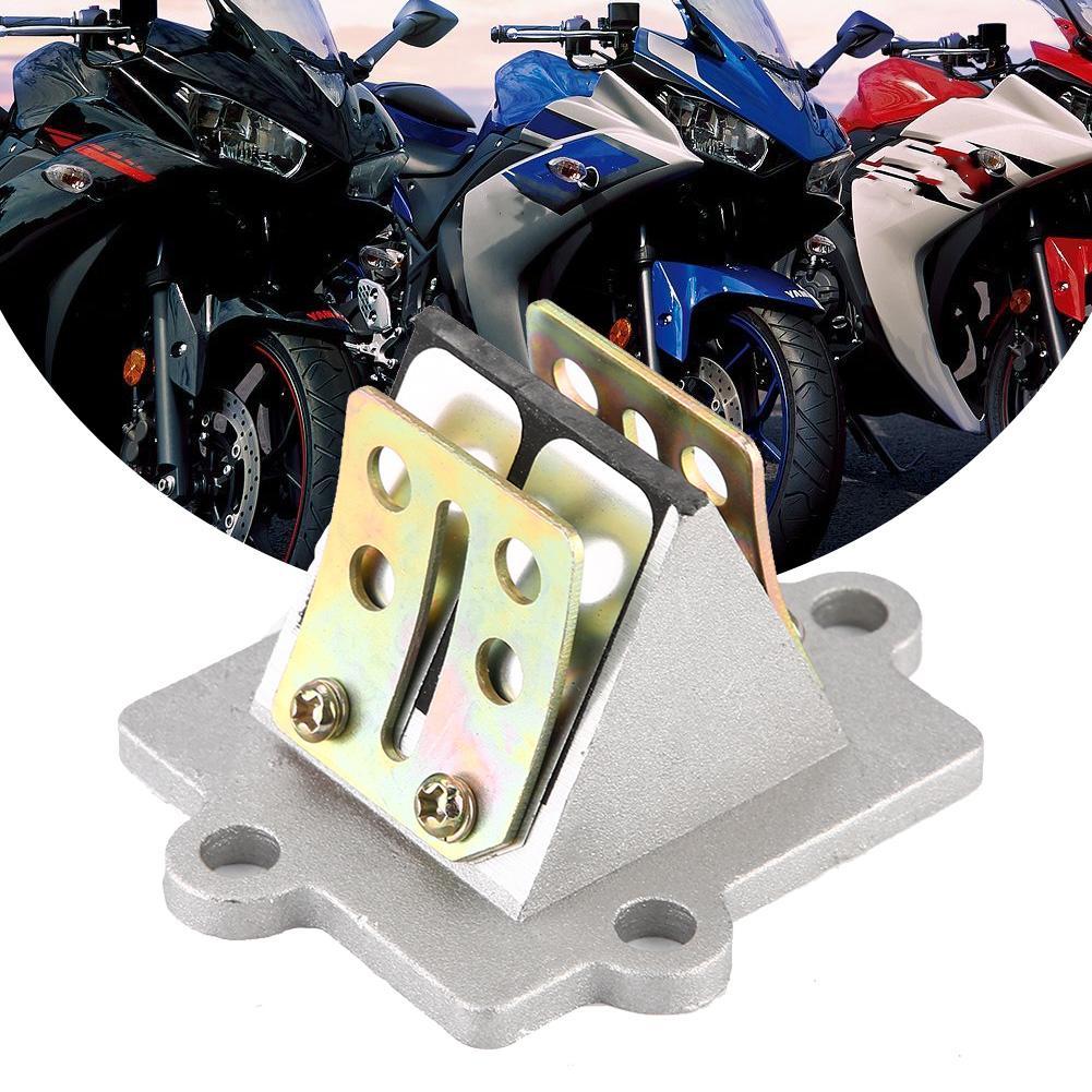 Reed Valve Motorcycle Intake Reed Valve Assembly f/ür Minarelli JOG 50cc 2-Takt