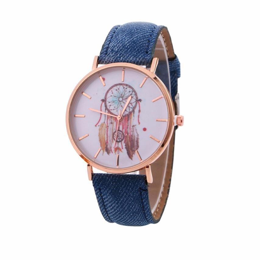 NEW Dreamcatcher Watch Women Retro Cowboy Leather Quartz Wrist Watches Women's Casual Sports Clock Watch Relogio Feminino #LH 4