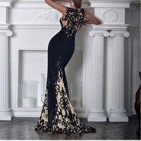 sexy party dress black lace dress elegant women clothing vestidos robe femme long dress kleider sukienka fashion clothes frocks