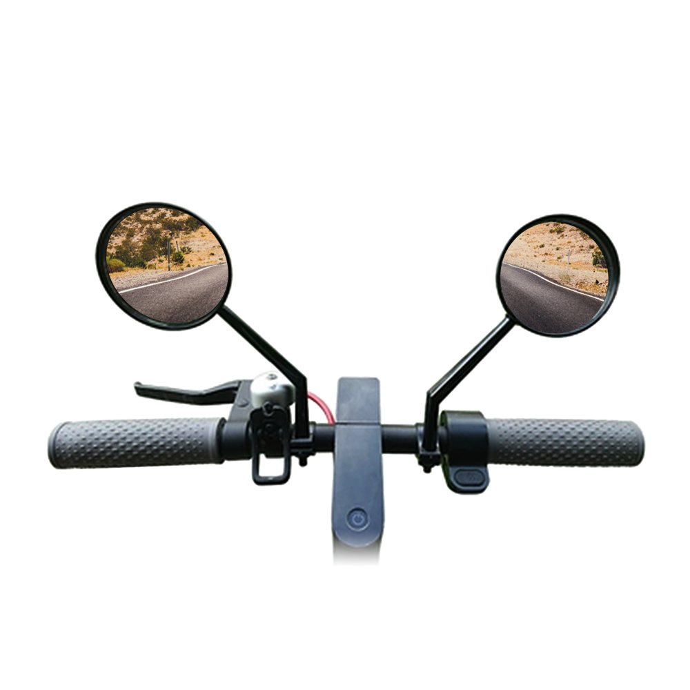 2 Pcs Bicycle Mirror Cycling Parts Rearview Mirrors Rear View Glass For Xiaomi Mijia M365 Electric Scooter We Take Customers As Our Gods