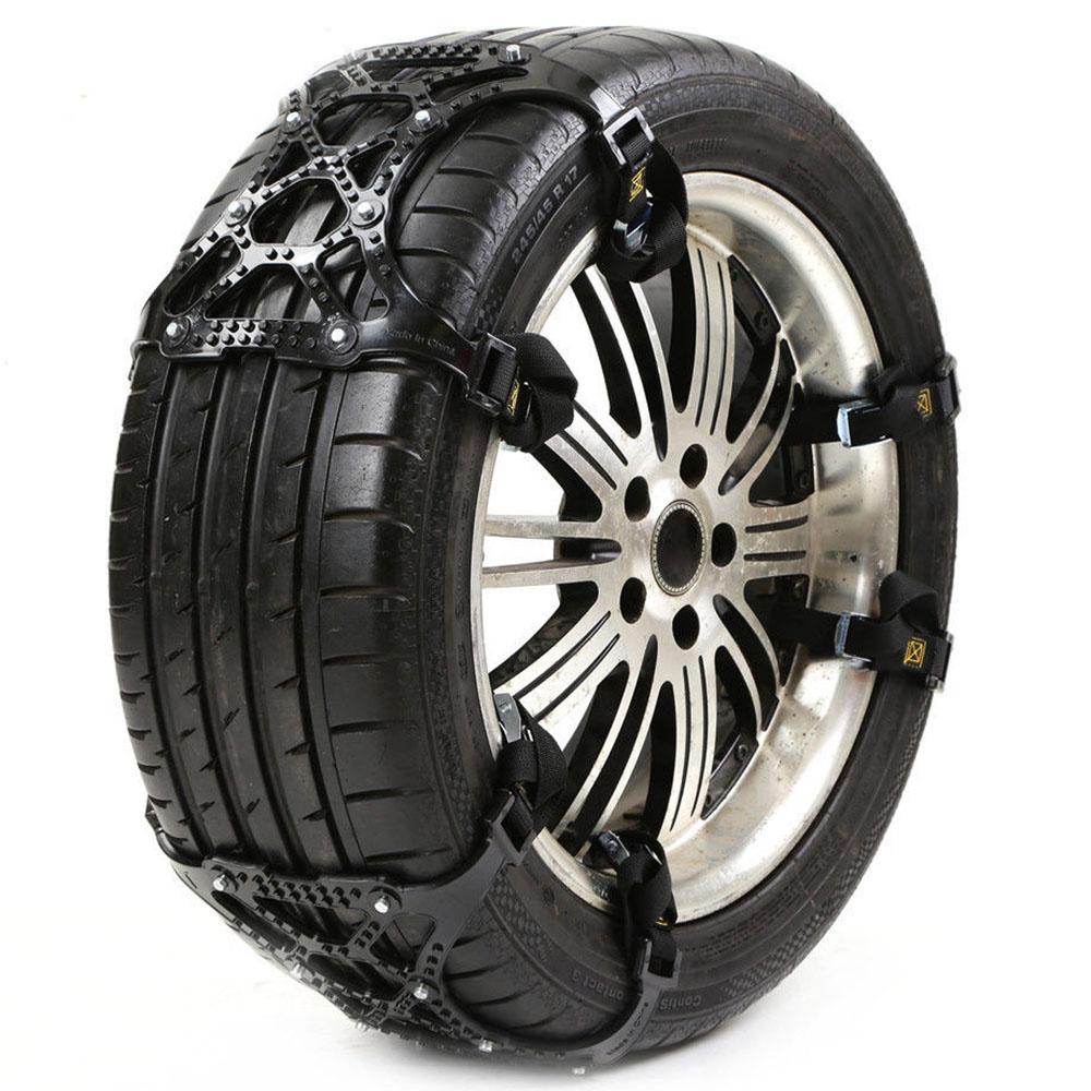 Mayitr 3Pcs Universal 65 265mm Car Tire Tyre Anti skid Snow Wheel Chain Winter Roadway Safety Tire Accessories