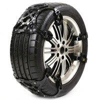 Mayitr 3Pcs Universal 65 265mm Car Tire Tyre Anti skid Snow Wheel Chain Winter Roadway Safety Tire Accessories