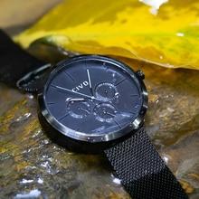 CIVO Fashion Casual Watches Men Top Brand Luxury Quartz Watch Men Clock Mesh Strap Waterproof Date Sport Watch Relogio Masculino