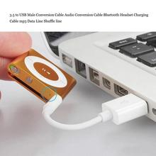High Quality USB 2.0 Data Sync Charger Transfer Cable For Phone IPod Shuffle 3rd 4th 5th 6th Free Shipping