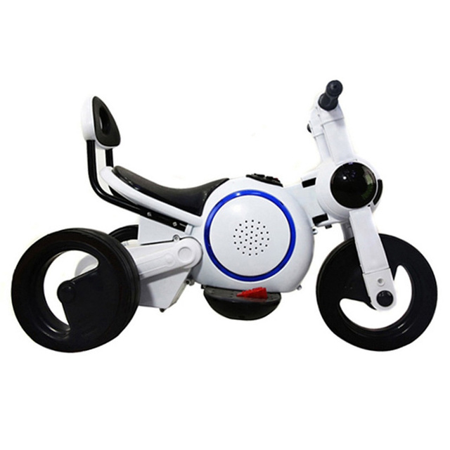 Children's Electric Motorcycle Balance Tricycle Motorbikes Dog Rechargeable Toy Foot Ride On Car Baby The Stroller
