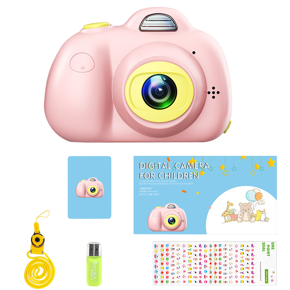 Enfants Mini caméra jouet Photo numérique caméra enfants jouets éducatifs photographie cadeaux enfant en bas âge jouet 8MP hd jouet caméra - 3