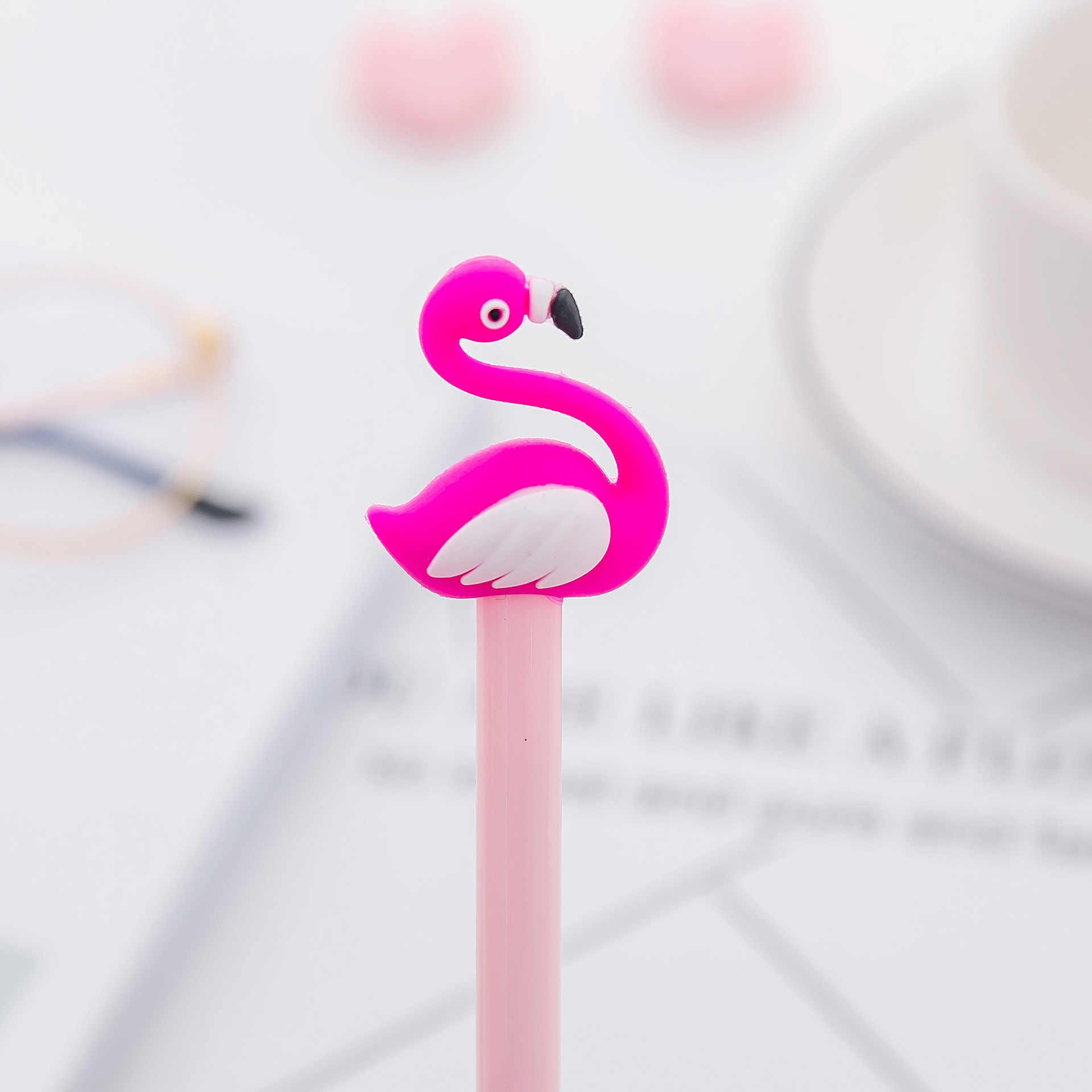 Ellen Brook Nette Flamingo Kawaii Schule Lieferungen Schreibwaren Gel Tinte Stifte Geschenk Schule Schreibwaren Büro Lieferanten Kinder Stift Werkzeug