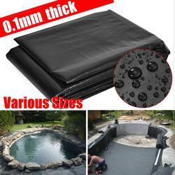 13 サイズ厚みの防水ライナーフィルム魚池ライナーガーデンプール強化 HDPE ヘビーデューティ保証造園プール池