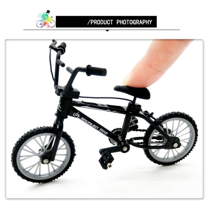 Mini Finger Bicycle BMX Flick Finger Bikes Toys Mini Bicycle Model BMX Bike Gadgets Novelty Gag Toys For Kids Gifts