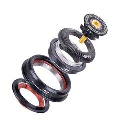 ZTTO Mtb rower rower szosowy zestaw słuchawkowy stożkowe 44Mm 56Mm Cnc 1 1/8 cal 1 1/2 cal stożkowe rury widelec zintegrowane skośne być|Zewnętrzne narzędzia|   -
