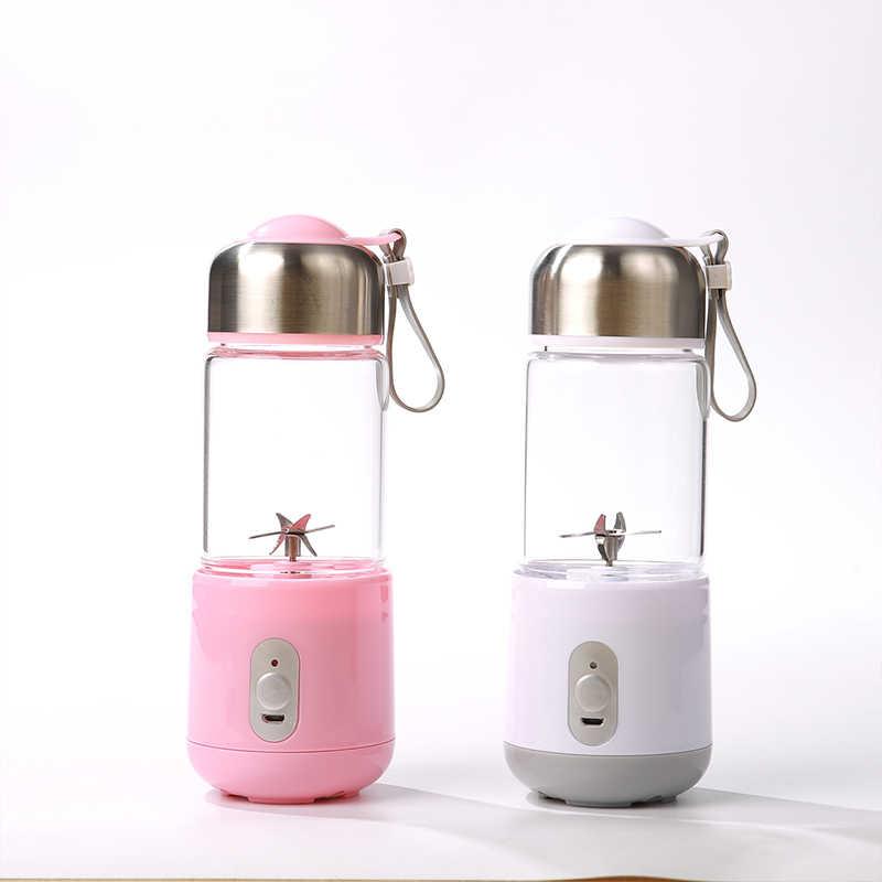 Liquidificador portátil, USB Do Smoothie Liquidificador Juicer Copa, 17 oz Frutas Máquina de Mistura Copo Removível, presentes Para Mulheres, Liquidificador Perfeito