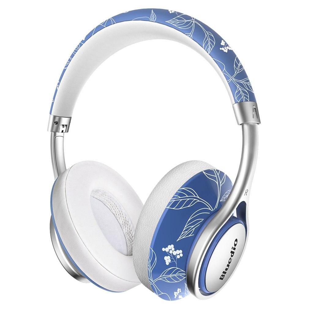 Bluedio A2 Bluetooth casque sans fil avec micro suppression de bruit casque de musique écouteur à la mode pour téléphone portable
