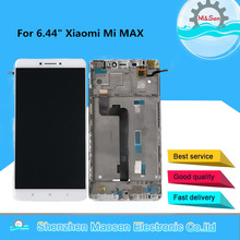 """6.44 """"M & Sen Dành Cho Xiaomi Mi Max Màn Hình LCD Có Khung + Bảng Điều Khiển Cảm Ứng Bộ Số Hóa Dành Cho Xiaomi mimax Mi Hiển Thị Tối Đa Khung Lắp Ráp"""